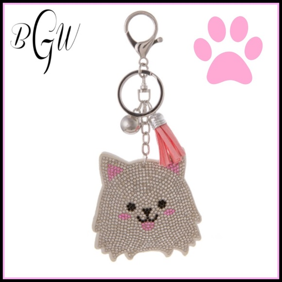 🌺🆕JUST IN Adorable Pet Keychain with Clip Boutique